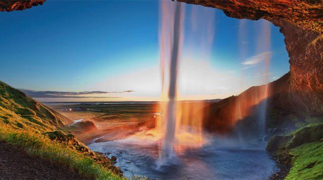 Seljalandsfoss, Islanda del sud