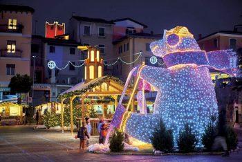 Presepi galleggianti Natale-Malcesine