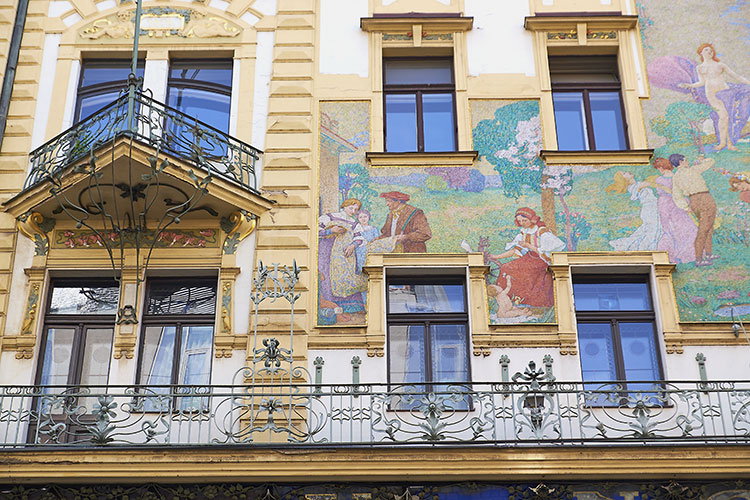 Praga palazzo-Art-Noveau