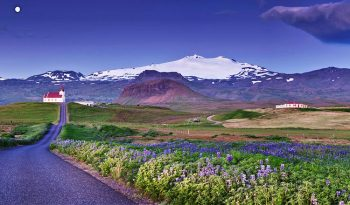 Islanda SnaefellsjokullIngjaldsholl